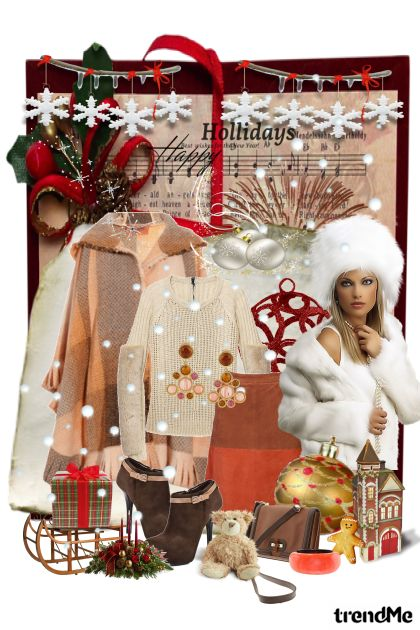 ,,Hollidays Happy,, from collection A Magical World by Ywette