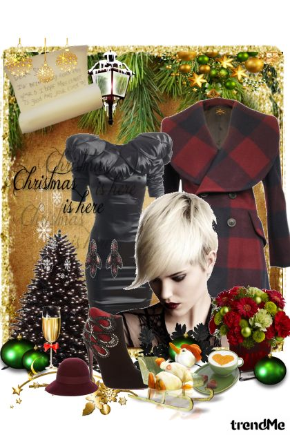 Christmas Time from collection Winter Idyll by Ywette