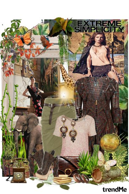 Safari... from collection Special Edition Ywett by Ywette
