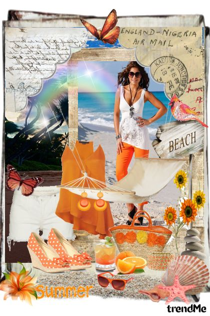 Summer by the Sea from collection Sea and The Beach by Ywette