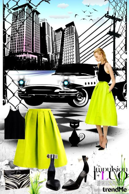 FluoWorld from collection Get the look by nataniele