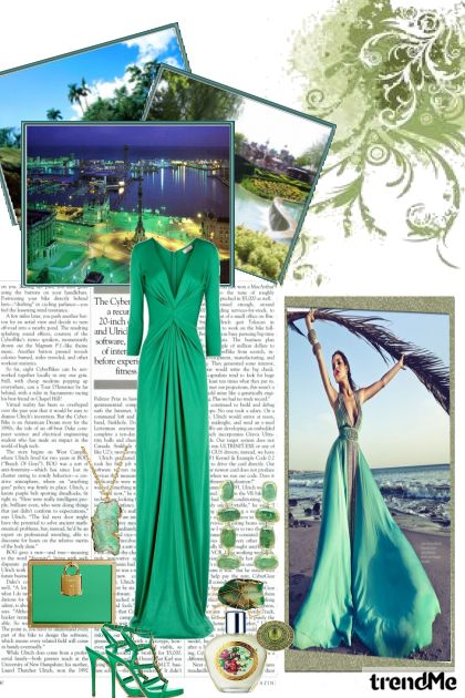 Green Glamour from collection Glam by Amanda Santos