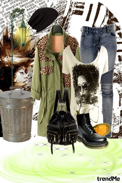 Grunge Look from collection Street Style by Weezy