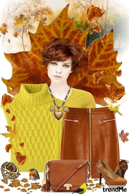 Autumn Colors from collection Jesen/Zima 2014 by mimi274