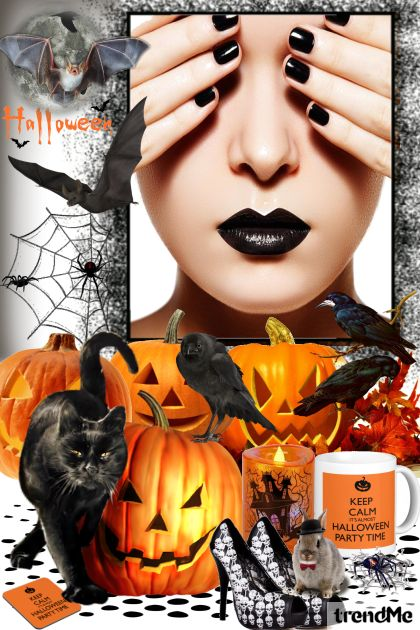 It's Halloween... Keep Calm... from collection Jesen/Zima 2014 by mimi274