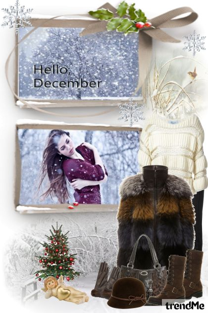 Hello, December! from collection Jesen/Zima 2014 by mimi274