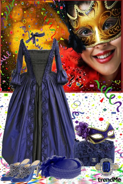 Come To The Masquerade Party! from collection Be Pretty by mimi274