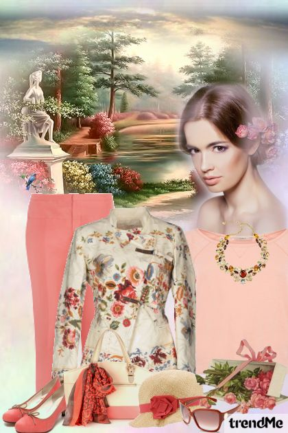 Romantic Spring from collection Be Pretty In Spring by mimi274