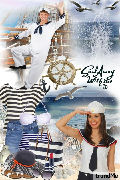 Sail Away With Me from collection Summertime by Mirna M