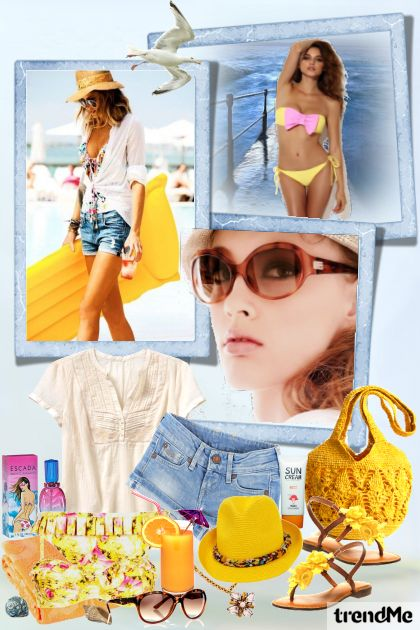 Summer Edition 11/2015 from collection On The Beach by Mirna M