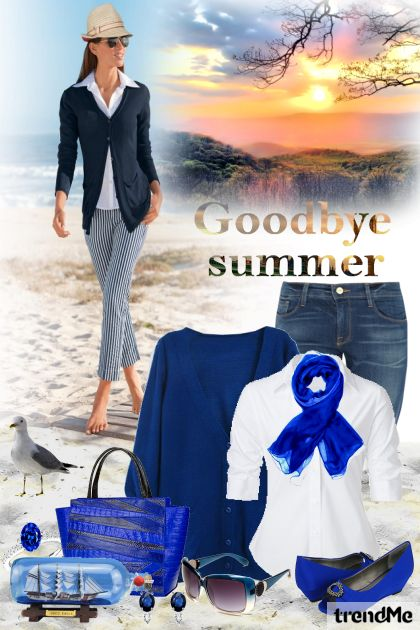 Goodbye Summer from collection Summertime by Mirna M