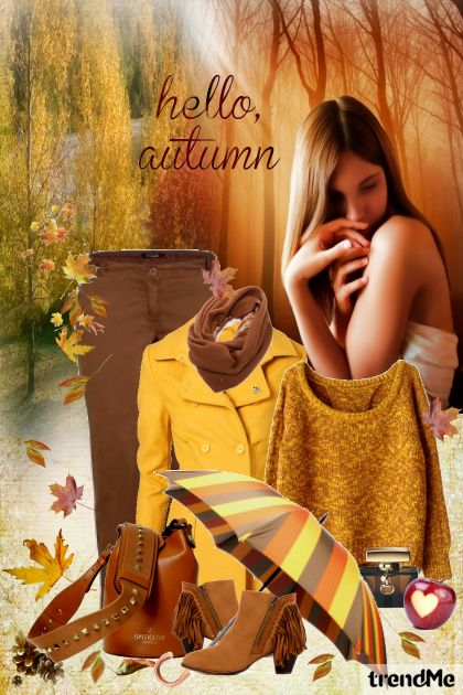 Hello, Autumn... из коллекции Be Pretty In Autumn от Mirna M