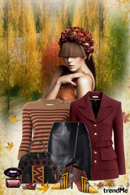 Autumn Edition 1/2015 from collection Be Pretty In Autumn by Mirna M