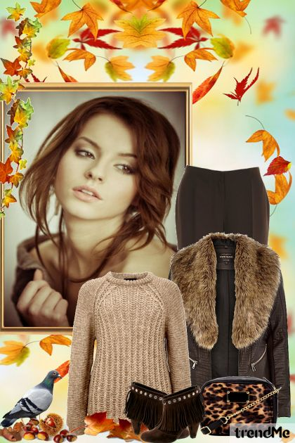 Autumn Edition 8/2015 z kolekcji Be Pretty In Autumn od Mirna M