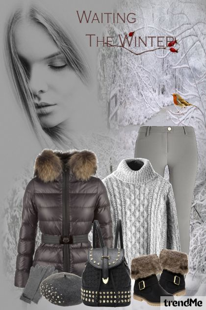 Waiting For The Winter aus der Kollektion Be Pretty von Mirna M
