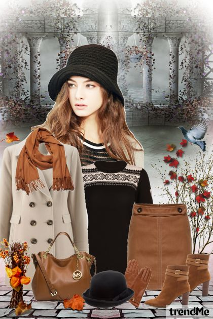 At The End Of Autumn from collection Be Pretty In Autumn by Mirna M