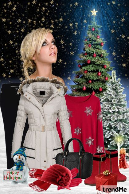 The Most Wonderful Time Of The Year aus der Kollektion Be Pretty In Winter von Mirna M