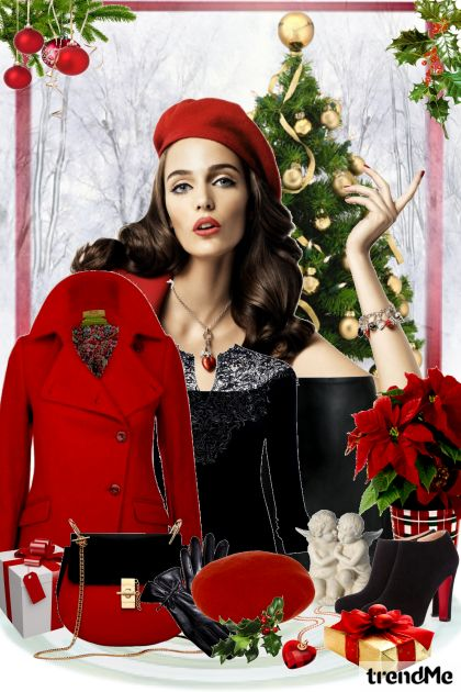 Christmas Time Is Here aus der Kollektion Be Pretty In Winter von Mirna M