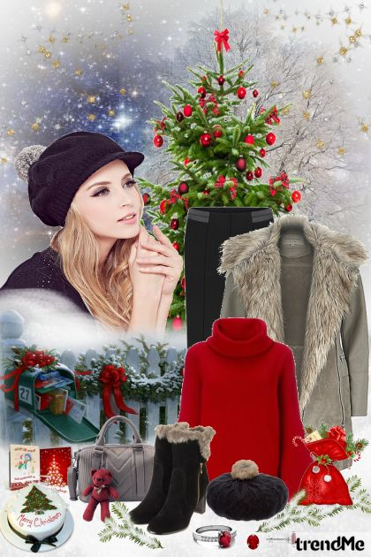 It's Christmas! from collection Be Pretty In Winter by Mirna M