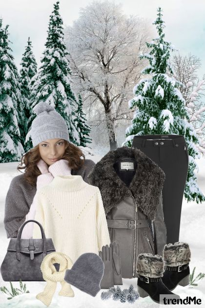 When The Cold Of Winter Comes from collection Be Pretty In Winter by Mirna M