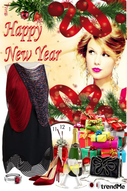 Happy New Year!!! from collection Be Pretty In Winter by Mirna M