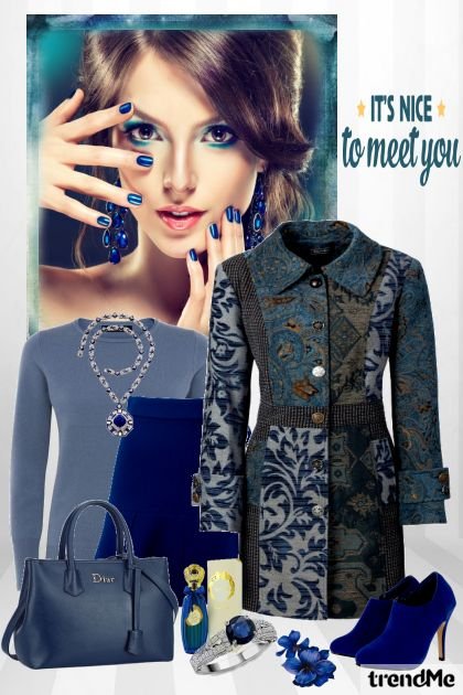 It's Nice To Meet You De la colección Be Pretty In Winter por Mirna M