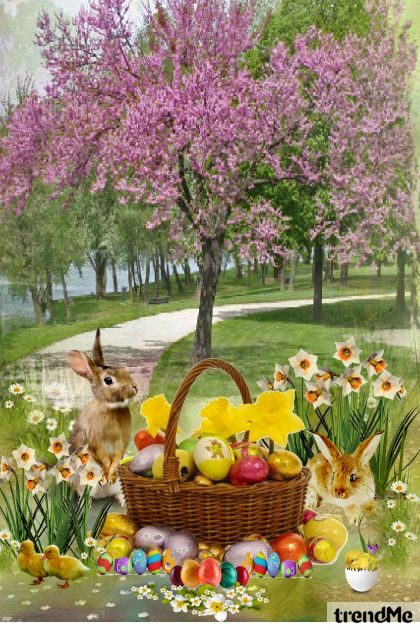 Happy Easter! from collection Let's Be Creative! by Mirna M