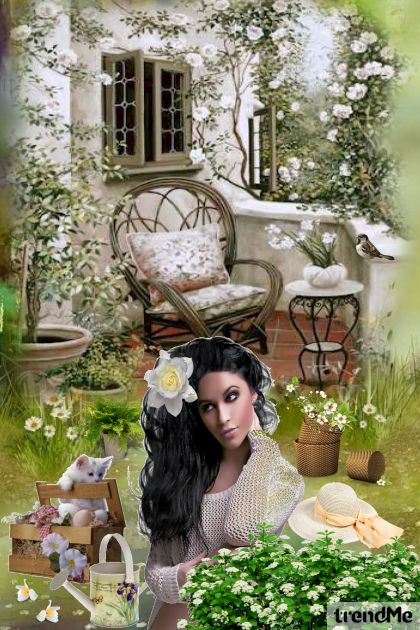 It's Spring In My Garden from collection Let's Be Creative! by Mirna M