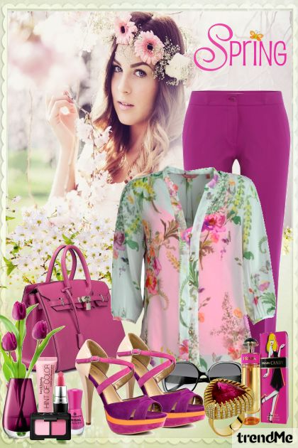 Spring Edition 7/2016 z kolekcji Be Pretty In Spring od Mirna M