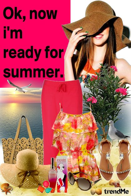 I'm ready for summer! z kolekcji Summertime od Mirna M