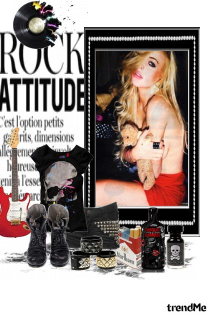 rock attitude :) iz kolekcije sugarlicious od Sanja