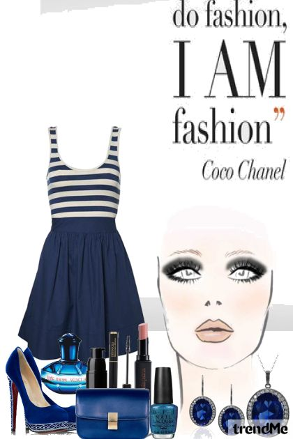 Plavo from collection Coco Chanel by Lorena ♥