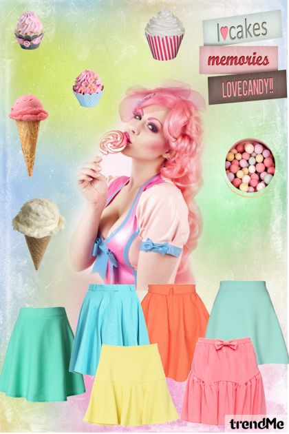 LoveCandy Skirts