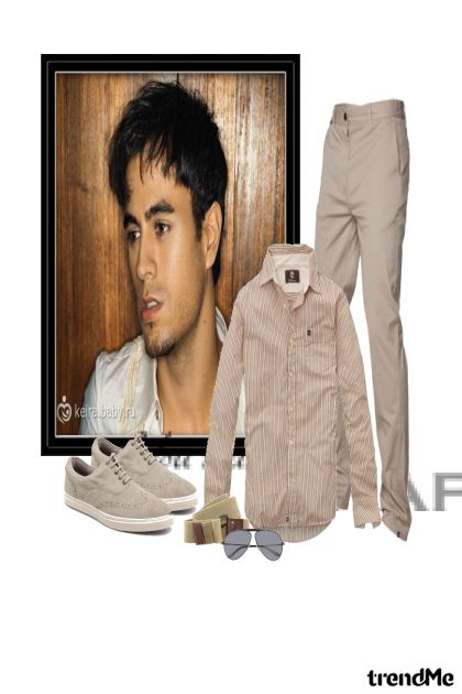 Enrike Iglesias from collection Men by nastenyka