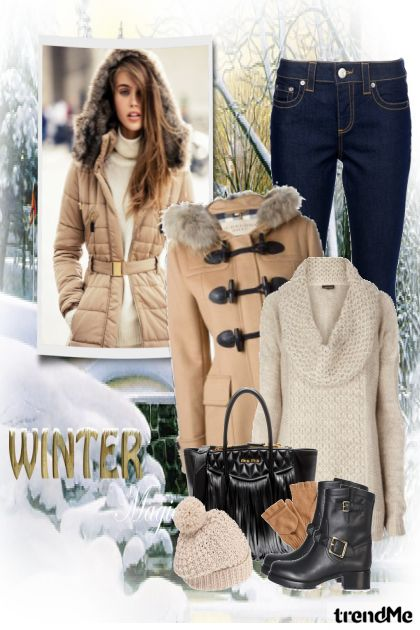 Winter magic aus der Kollektion other-collection von nastenyka