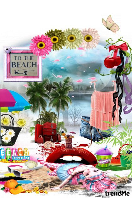 Creative beach party  from collection Fashion by Sonja Jug