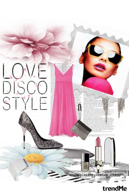 Disco summer from collection Fashion by Sonja Jug