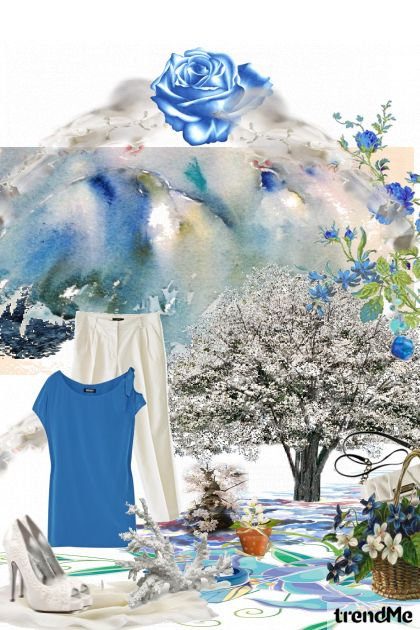 Sky flower from collection Fashion by Sonja Jug