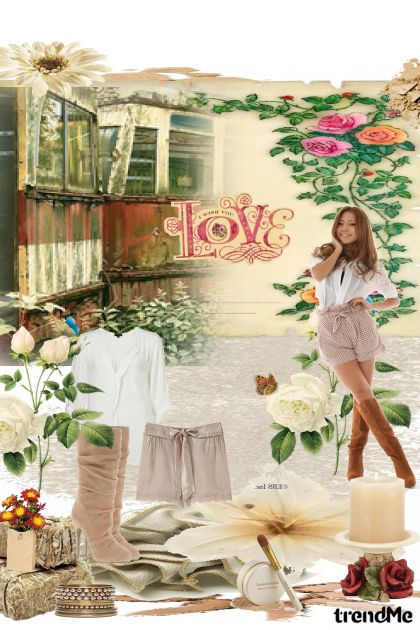 Country love from collection Fashion by Sonja Jug