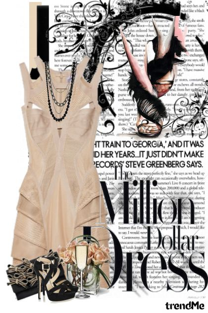 Back to basic.Herve Leger glamour!