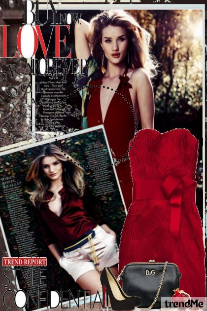 back to basic.Red from collection Back to basic by MatejaCRO