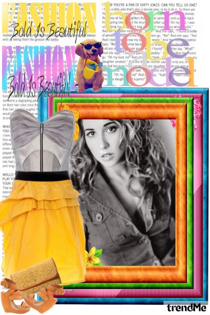 Colors of summer from collection Proljeće/Ljeto 2011 by MatejaCRO