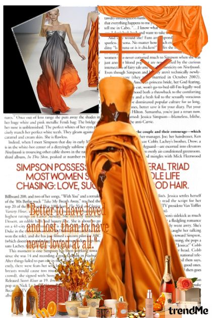 Orange spring!! from collection stylish by MatejaCRO