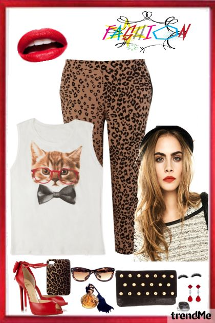Moda FUN  from collection animal print <3 by Flávia Santos