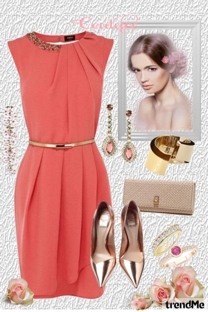Pretty from collection Coral & Gold by Jil Ferreira Personal Stylist