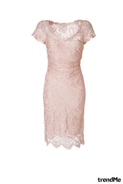 haljina sa čipkom
