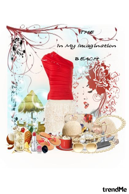 the beach in my imagination from collection Proljeće/Ljeto 2011 by lukrezia