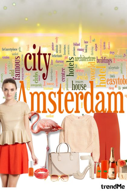amsterdam from collection Dobrodosla by FikaFika