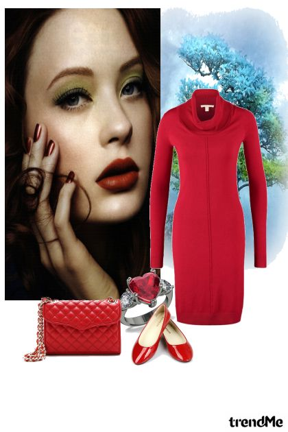 Red Look from collection Spring/Summer 2012 by diamonds15