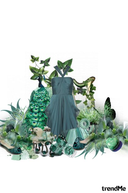 Green peace from collection SpringMe by NeLLe